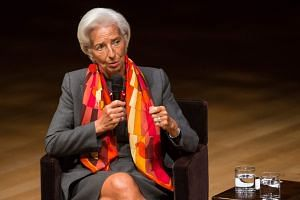International Monetary Fund managing director Christine Lagarde warned that crises in Turkey and Argentina could spread due to the US-China trade war.