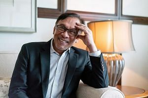 Port Dickson MP Danyal Balagopal Abdullah (above) has submitted his resignation to allow Datuk Seri Anwar Ibrahim (right) to contest a by-election. Mr Anwar's return to politics has been widely expected as he prepares to ascend to power as part of an