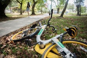 oBike abruptly ceased operations here in June, citing difficulties in meeting the new requirements and guidelines by the Land Transport Authority to curb indiscriminate parking.