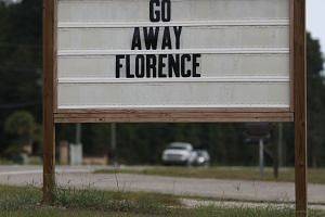 A sign in South Carolina's Myrtle Beach reads: