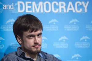 Pussy Riot activist Pyotr Verzilov has been hospitalised after suffering from apparent poisoning from medical drugs.