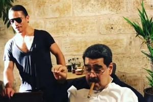 Videos of Venezuelan President Nicolas Maduro visiting a restaurant owned by Turkish chef Nusret Gokce, who goes by the name Salt Bae, have gone viral.