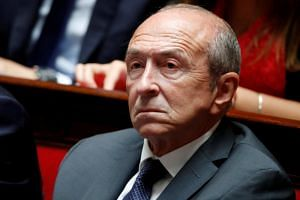 France's Interior Minister Gerard Collomb told a news magazine that he would quit the ministry to run for his old job as mayor of Lyon in eastern France in 2020.