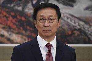 Chinese vice-premier Han Zheng (above) will attend the Joint Council for Bilateral Cooperation meeting with Deputy Prime Minister Teo Chee Hean on Sept 20, 2018.