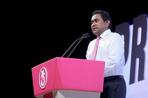 President Abdulla Yameen is seeking a second five-year term in the Indian Ocean archipelago.