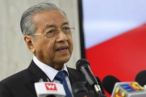 "Malaysian Prime Minister Mahathir Mohamad said there are some things Malaysia ""cannot accept"" even though they are seen as human rights in Western countries."