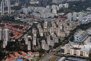 File photo showing HDB flats in Singapore, on Aug 11, 2018.