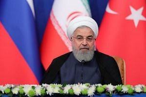 """Iranian President Hassan Rouhani said: """"Iran will not abandon its defensive weapons... including its missiles that make America so angry."""""""