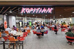 File photo showing the Kopitiam outlet at Plaza Singapura, on Sept 21, 2018.