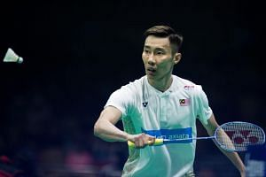 The 35-year-old Lee Chong Wei is a three-time Olympic silver medallist and 12-time Malaysian Open champion.