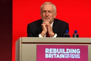British opposition leader Jeremy Corbyn said earlier he would back a second Brexit referendum if his Labour Party voted to pursue the move.