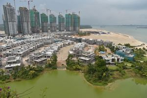 The Forest City development in the Johor Strait, facing Tuas in Singapore, had been heavily marketed to mainland Chinese buyers and other foreigners.