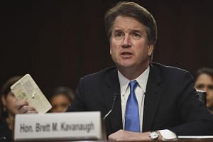 Supreme Court nominee Brett Kavanaugh (pictured) previously worked as a White House lawyer and adviser under former president George W. Bush.