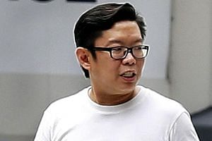 Sim Tee Peng (left) forged stamp duty certificates and misappropriated clients' monies while at Mr Troy Yeo's firm.