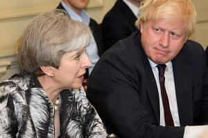 Mr Boris Johnson resigned in July as foreign secretary over British Prime Minister Theresa May's Brexit proposals.
