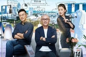If You Are The One is a reality dating TV show hosted by Meng Fei (centre). With him are guest hosts Jiang Zhenyu and Huang Lan. The Singapore edition will be filmed in Nanjing, China, in December.