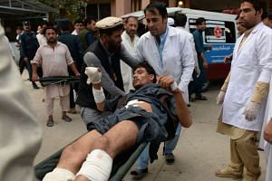 At least 13 people were killed and more than 30 were wounded in the incident in Afghanistan's eastern province of Nangarhar on Oct 2, 2018.