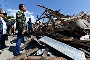 Indonesian President Joko Widodo  said he had ordered the national search and rescue agency to send more police and soldiers into the affected districts.