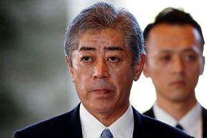 Veteran politician Takeshi Iwaya is Japan's new Defence Minister following a Cabinet reshuffle.