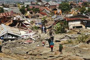 In the wake of a 7.4 magnitude earthquake and a tsunami, the eastern Indonesian city of Palu is still reeling.