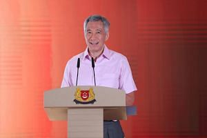 """Prime Minister Lee Hsien Loong said: """"We will fundamentally transform how we develop government software and applications."""""""