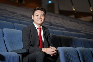 Mr Aloysius Moh is one of the 182 young people who received the National Youth Achievement Award gold award for their outstanding leadership and contributions to society.