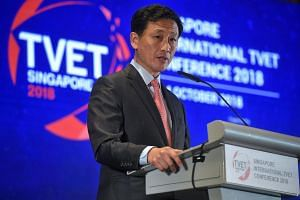 """At the core of the SkillsFuture movement is passion,"""" said Education Minister Ong Ye Kung at the triennial Singapore International Technical and Vocational Education and Training Conference."""