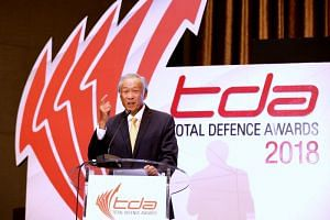 Defence Minister Ng Eng Hen said it is time to apply the concept of Total Defence to cyber threats.
