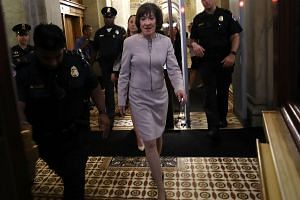 Senator Susan Collins defended Judge Kavanaugh and lambasted liberal activists and senators, whom she argued never gave the nominee a fair shake.