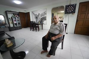 Mr R. Sivanandam , 72, is asking for $720,000 for a five-room flat in Bishan Street 13, a good $50,000 below the average resale transaction price of five-room units in his block over the past year.