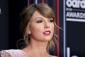 Swift (above) has enormous reach, with 112 million Instagram followers and 84 million Twitter followers.