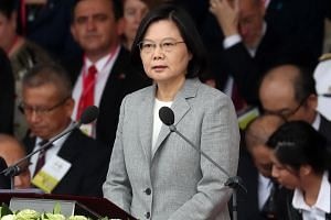Taiwan President Tsai Ing-wen said the island would use all methods to prevent infiltration from other countries.