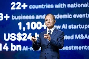 Huawei chairman Eric Xu believes the business potential of AI is immense as only about 4 per cent of firms have invested in AI technology.