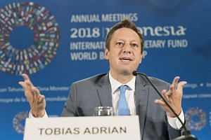 IMF capital markets director Tobias Adrian said potential shocks to the financial system could come in many forms.