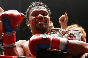 Manny Pacquiao is the only eight-division champion in boxing history, and is now a senator. Last year, Forbes magazine listed the once-poor boxer as the world's 20th highest-paid athlete of all time.