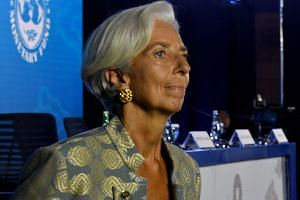 International Monetary Fund chief Christine Lagarde said her intention at this point is to go ahead with her plan to attend the Future Investment Initiative.