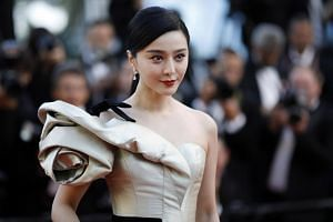 Chinese actress Fan Bingbing arriving at the Cannes Film Festival, on May 11, 2018.