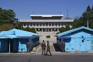 The closed-door meeting will be held at the border village of Panmunjom and attended by three representatives from each side.