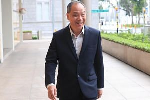 Former Workers' Party chief Low Thia Khiang had