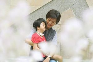 Ms Lee Seu Hong and her six-year-old daughter, Kang En Ning, have benefited from the programme, which has given Ms Lee and her husband time to relax.