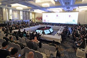 Defence ministers of the 10 Asean member states signed a joint declaration on Oct 19, 2018, at the annual Asean Defence Ministers' Meeting, pledging to promote regional peace and stability.