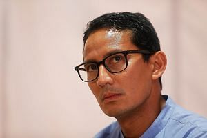 Mr Sandiaga Uno (above), who is Mr Prabowo Subianto's running mate, said chicken rice costs $3.50 in Singapore, compared with about $5 in Indonesia. However, his political opponents have challenged the claim.