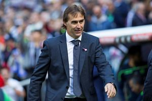 Julen Lopetegui's (pictured) gamble in leaving Gareth Bale and Karim Benzema on the bench backfired, despite both making a difference when brought on in the second half.