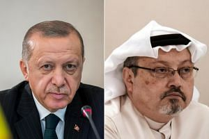 After Saudi journalist Jamal Khashoggi (right) disappeared at the Saudi Consulate in Istanbul, Turkish President Recep Tayyip Erdogan and his aides did more than just quietly investigate.