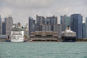 With Singapore's two cruise facilities - Marina Bay Cruise Centre (pictured) and the Singapore Cruise Centre in HarbourFront - located in the south, there is potential too for the Republic to draw more visitors by sea as it positions itself as a regi