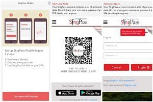 The new SingPass Mobile app is available on both the Google Play and Apple App Store.