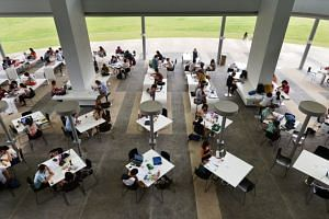 The OECD report found that Singapore ranks third in the world in terms of its share of students in the bottom socio-economic quarter who score well in objective measures of science, maths and reading.