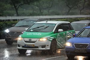 Droplet, which for now covers only rides booked via Grab, will pay up to 60 per cent of a commuter's trip fare or cancellation fee if he or she hails a ride through a ride-hailing platform and it is raining at the point of pickup.