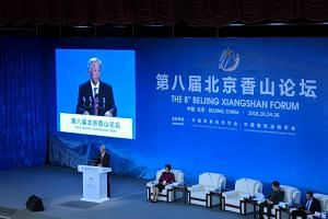 Defence Minister Ng Eng Hen said history showed that China cannot be isolated from the world if it is to thrive.