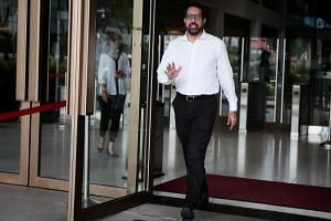 Workers' Party  secretary-general Pritam Singh at the Supreme Court on Oct 24, 2018. Mr Singh is the third defence witness to be called to the stand, following WP chairman Sylvia Lim and former WP chief Low Thia Khiang.